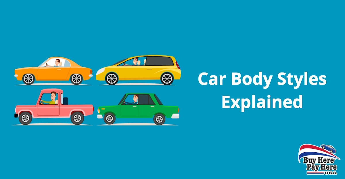 Car Body Styles Explained | Which Car is Right for Me? | Buy Here ...