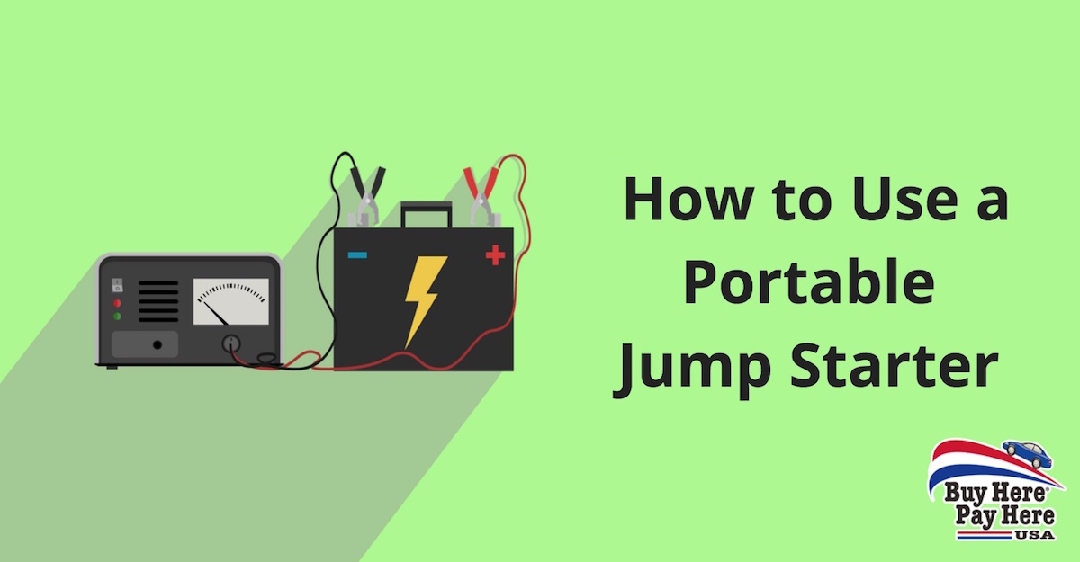 How to Use Portable Jump Starter and Battery Charger
