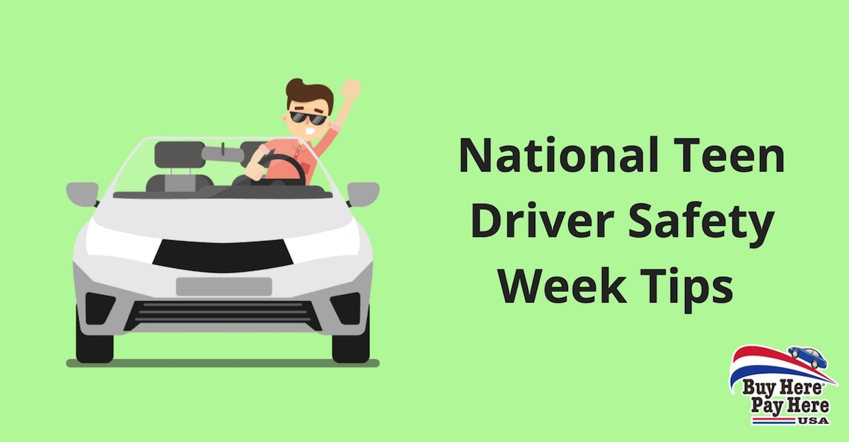Teenager Driving Tips - National Teen Driver Safety Week