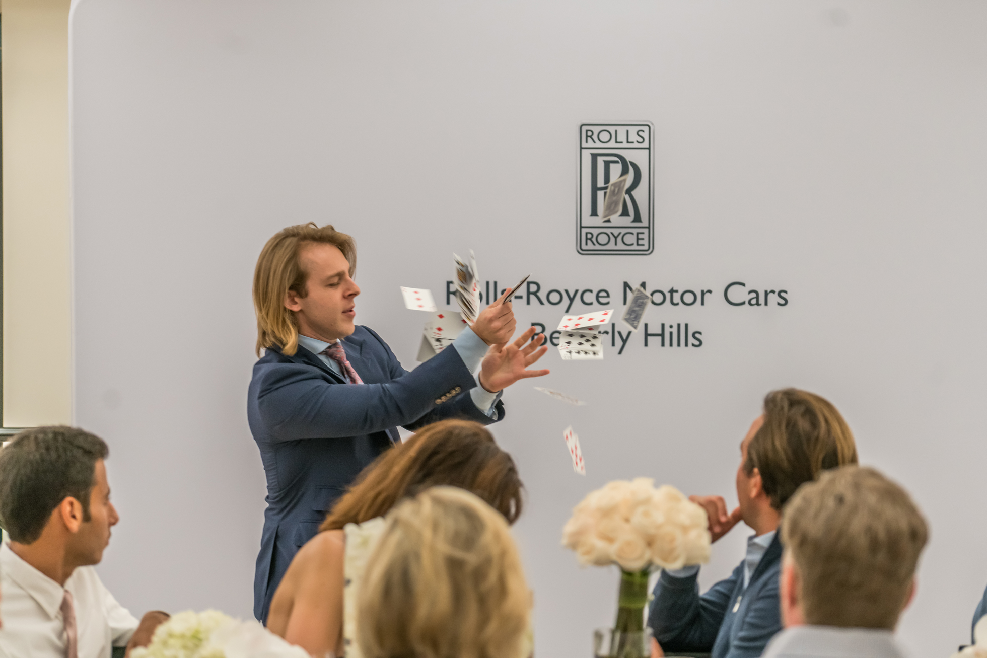 Morgan Stanley Private Dinner Rolls Royce Beverly Hills
