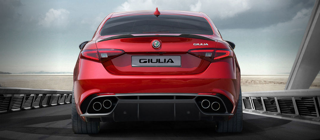 all the details on the 2016 alfa romeo giulia quadrifoglio. Black Bedroom Furniture Sets. Home Design Ideas