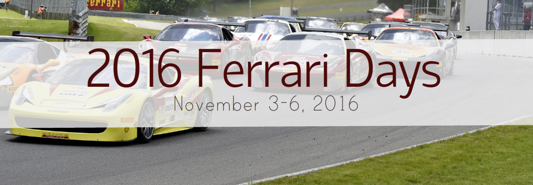 2016 Ferrari Days homestead miami speedway