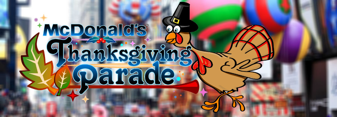 Chicago McDonalds thanksgiving day parade