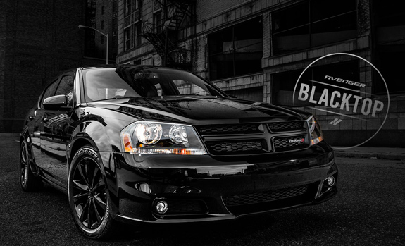 2008 Dodge Avenger Sxt >> 2014 Dodge Avenger Blacktop Package | Blacktop Rims Grille ...