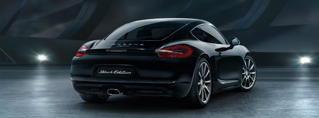 There's Nothing Quite LIke the Porsche Cayman Black Edition