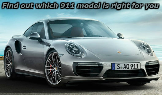 find out which porsche 911 model is right for you