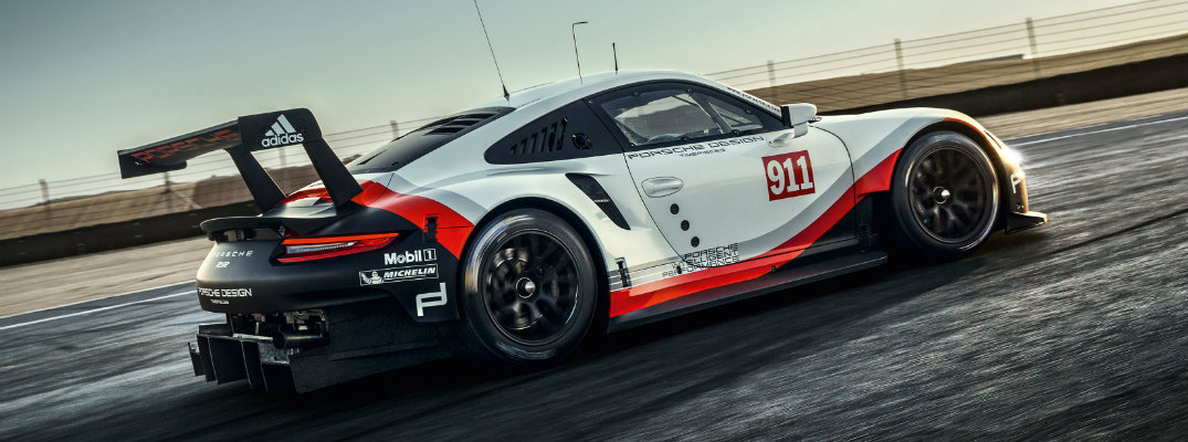 2017 Porsche 911 RSR Upgrades and Redesign