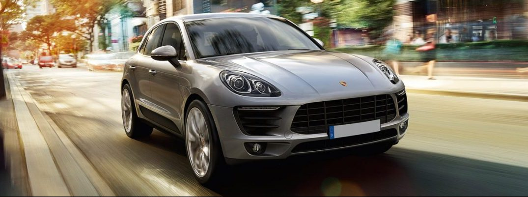 How much cargo space is there in the 2017 Porsche Macan?