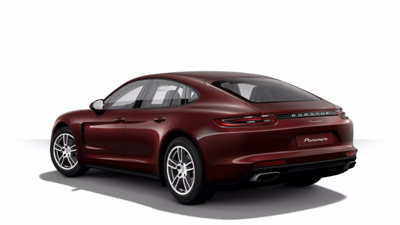 2017 Porsche Panamera Burgundy Red Metallic