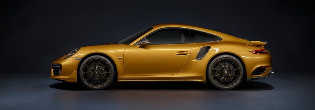Increased power and performance in the Porsche 911 Turbo S Exclusive Series