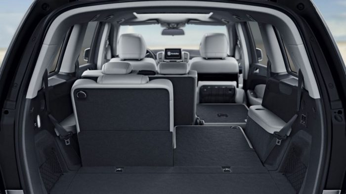 Which Mercedes-Benz model has third row seating?