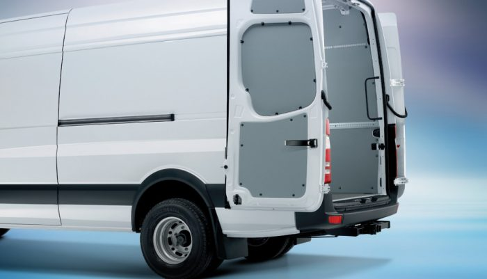 How much cargo space is there in the mercedes benz sprinter - Commercial van interiors phoenix ...
