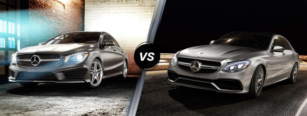 What s the difference between the c class and the cla class for Mercedes benz cla 350