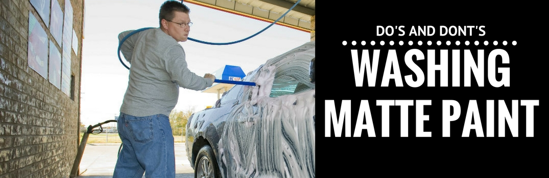 How to Wash Matte Black Mercedes-Benz Vehicles