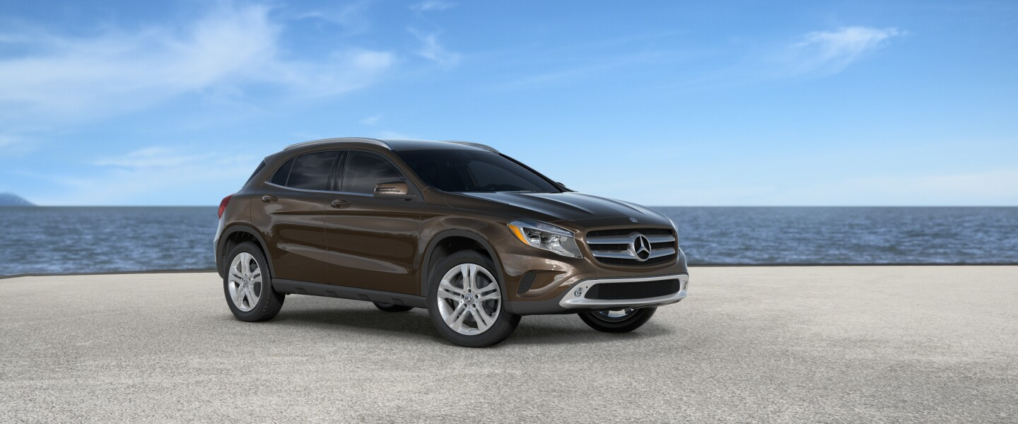 2017 Mercedes-Benz GLA in Cocoa Brown Metallic