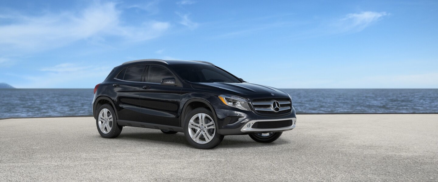 2017 Mercedes-Benz GLA in Cosmos Black Metallic
