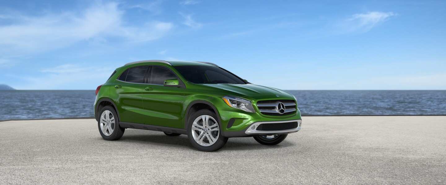 2017 Mercedes-Benz GLA in Kryponite Green Metallic