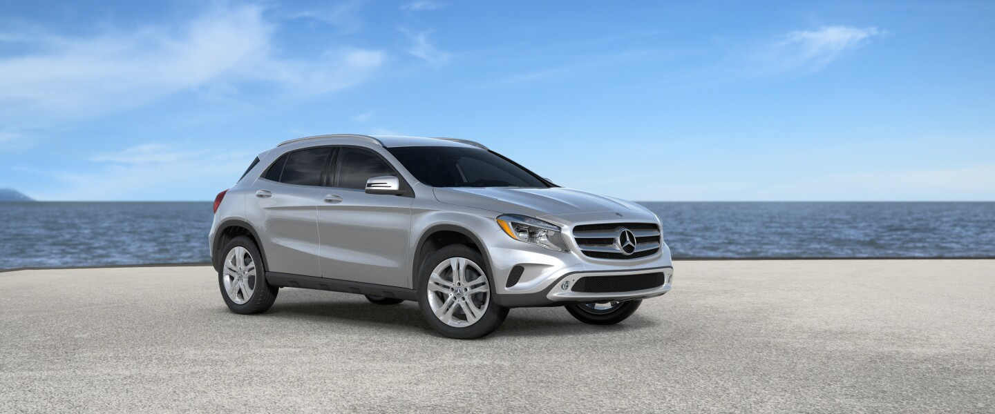 2017 Mercedes-Benz GLA in Polar Silver Metallic