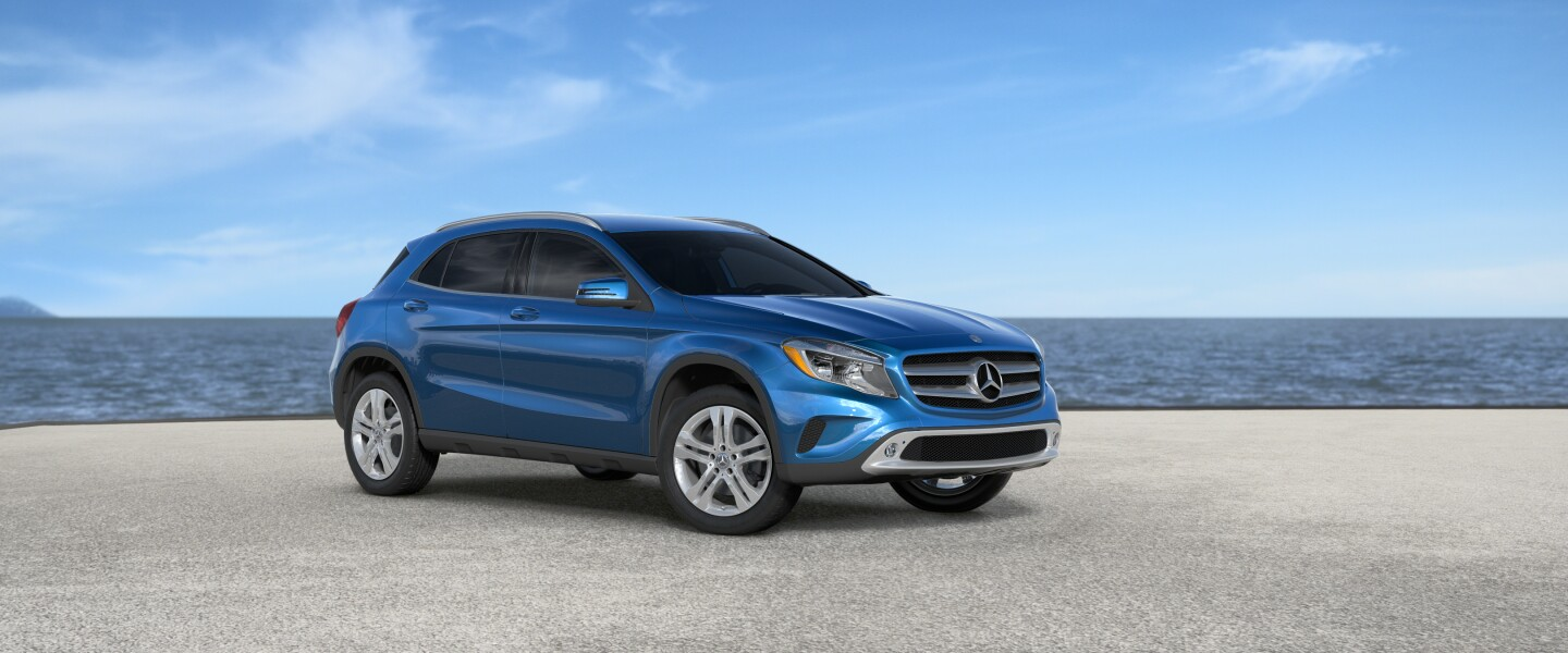 2017 Mercedes-Benz GLA in South Seas Blue Metallic