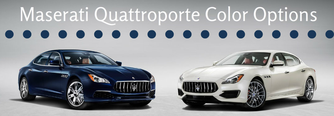 2017 quattroporte color options