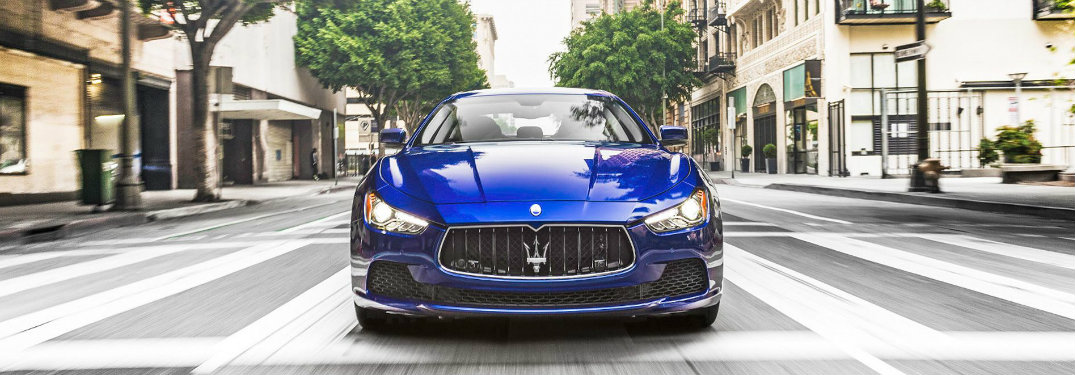 maserati ghibli luxury and sport trims