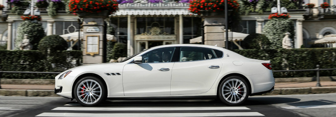 New trim packages for the maserati quattroporte