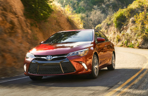 2017 Toyota Camry Tire Pressure Recommendation