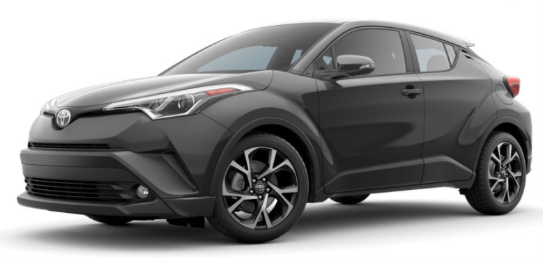 2017 toyota CH-R color options magnetic grey metallic