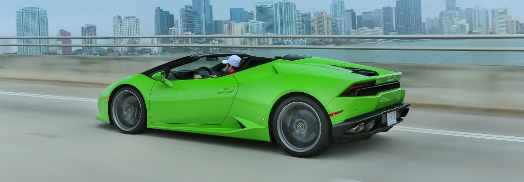 Why is there a Huracan Spyder and an Aventador Roadster?
