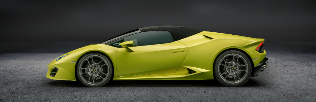 Lamborghini Huracan top up yellow