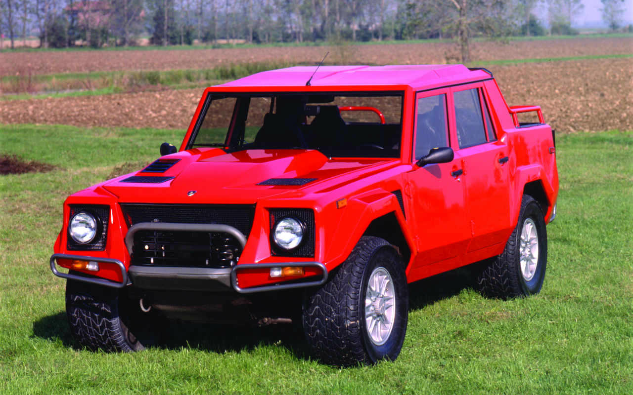 Has Lamborghini ever made an SUV before?
