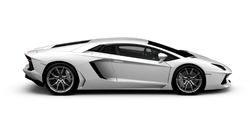 2017 Lamborghini Aventador Coupe Color Options