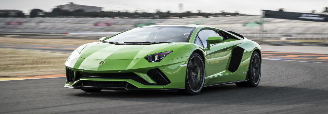 How many cylinders is the Aventador engine?