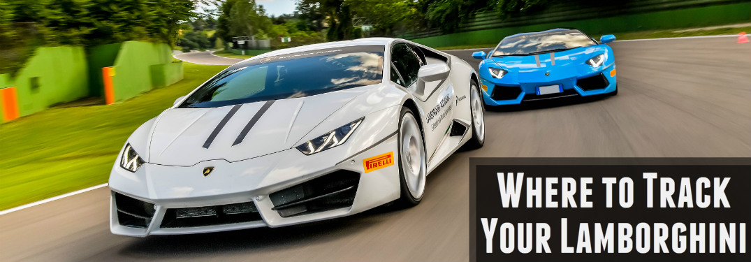 Where to track your Lamborghini