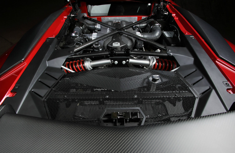 What's different for the Lamborghini Aventador SV?