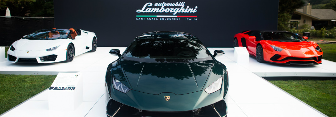 Lamborghini at Monterey Car Week