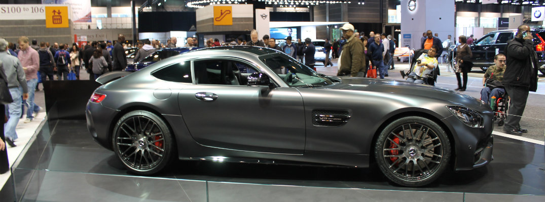 2018 Mercedes-AMG GT C debut at 2017 Chicago Auto Show