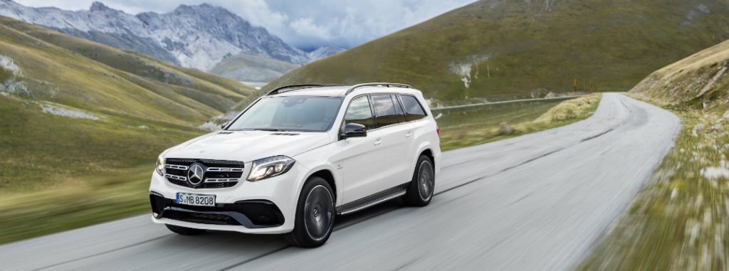 How to use distance pilot distronic in 2017 mercedes benz gls for Mercedes benz service b coupons 2017