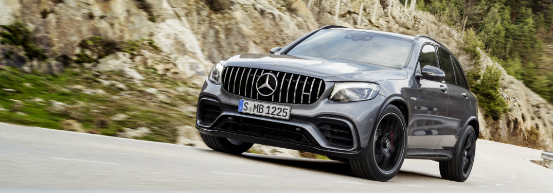 2018 Mercedes-AMG GLC 63 SUV engine specifications