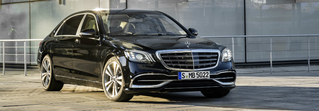 2017 Mercedes-Benz S-Class sedan driver assistance features