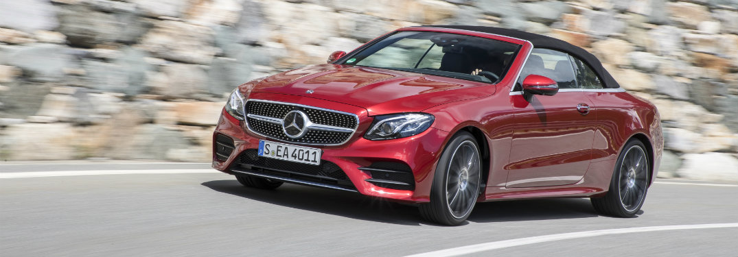 2018 Mercedes-Benz E-Class Cabriolet upgrades and updates