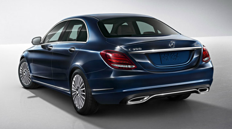 2018 mercedes benz c class sedan engine options and for Mercedes benz options