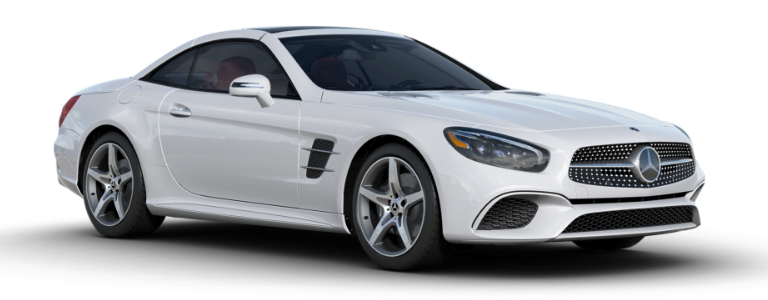 What colors does the 2018 mercedes benz sl come in for Mercedes benz polar white paint