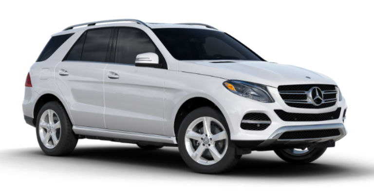 2017 mercedes benz gle suv color options for White mercedes benz suv