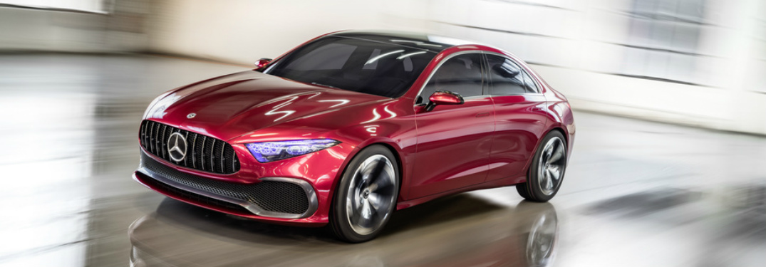 Photo Gallery of the 2018 Mercedes-Benz Concept A Sedan