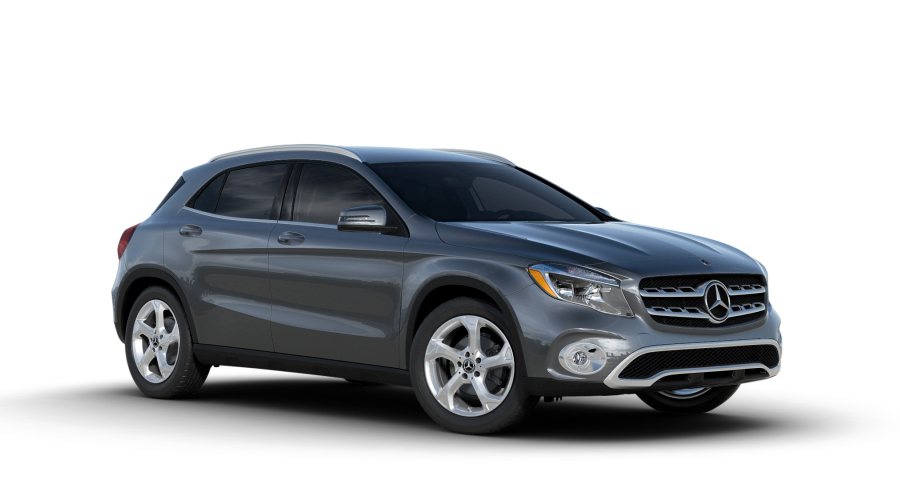 Color options of the 2018 mercedes benz gla for Mercedes benz options