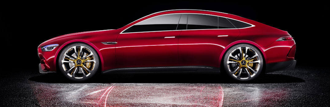 mercedes-amg gt concept exterior red