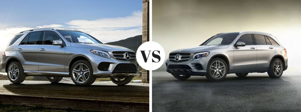 2017 mercedes benz gle vs glc comparison for Mercedes benz financial payment address
