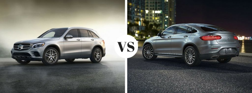 2017 Mercedes Benz Glc Suv Vs Glc Coupe