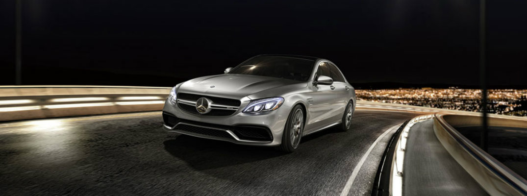 Safety features in the 2017 mercedes benz c class for Silver spring mercedes benz service